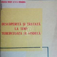 Descoperita si tratata la timp tuberculoza se vindeca