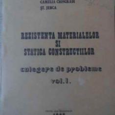 REZISTENTA MATERIALELOR SI STATICA CONSTRUCTIILOR CULEGERE DE PROBLEME VOL.1 - I