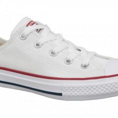 Pantofi sport Converse Chuck Taylor All Star Core Ox 3J256C pentru Copii, 28, 28.5, 29 - 31, 31.5, 32, 33, 33.5, 35, Alb