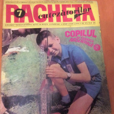 RACHETA CUTEZATORILOR  Nr 7  ( Anul 2 )  Iulie 1970