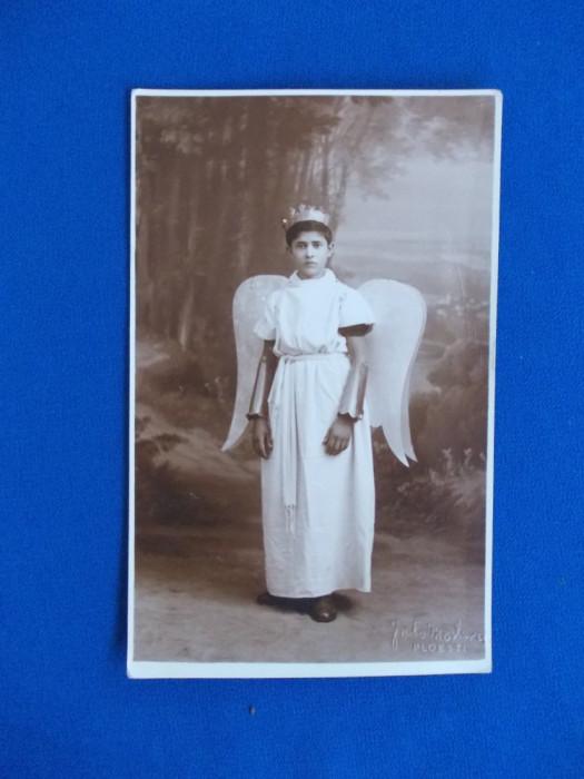 FOTOGRAFIE TIP CARTE POSTALA , FOTO MODERN PLOESTI , 1937