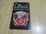 CARLOS CASTANEDA--POVESTIRI DESPRE PUTERE MARE,CARTONATA FACTURA