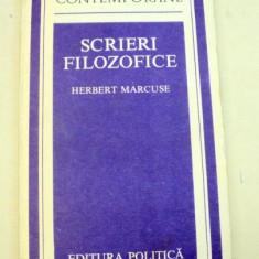 SCRIERI FILOZOFICE-HERBERT MARCUSE