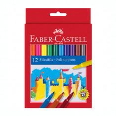 Carioca 12 culori Faber Castell 554212