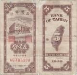 1949 , 5 cents ( P-1947 ) - Taiwan
