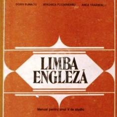 Limba engleza. Manual pentru anul V de studiu