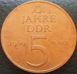 Moneda aniversara 5 MARCI / MARK - RD GERMANA (DDR), anul 1969 *cod 1888, Europa