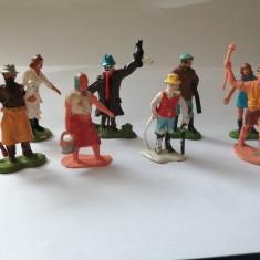 bnk jc Piese decor pentru machete - set 8 figurine ferma