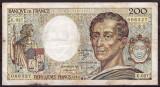 Franta 1985 - 200 francs, uzata