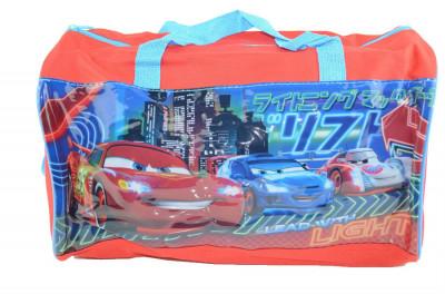 Geanta de voiaj pentru baietei cu imprimeu Disney Cars AHD15009-C1, Negru 1 foto