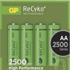 Acumulator AA (R6) GP NiMH Recyko+ 2500mAh 4 buc blister