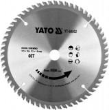 Disc circular pentru lemn 165 x 60t x 16mm Yato YT-60592