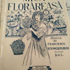 Mică florareasa, muzica de Francesco Buongiovani