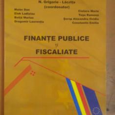 N. Grigorie - Lăcrița, Finanțe Publice și Fiscalitate, București 2008