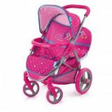 Carucior Dublu Papusi - Twin Birdie - Pink