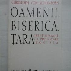 OAMENII,BISERICA,TARA - Cristoph Von Schonborn