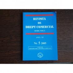 REVISTA DE DREPT COMERCIAL SERIE NOUA, Prof. univ. Ion Turcu