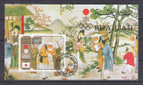 Sharjah 1972 Painting Olympics Sapporo Winners imperf. sheet used V.021