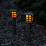 Cumpara ieftin Garden of Eden - Lampă solară LED imitaţie flacără, 38 cm