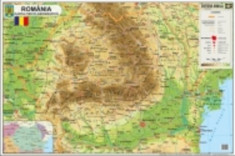 Harta Romania 70x100 foto