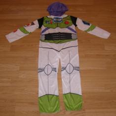Costum carnaval serbare toy story aviator astronaut pentru copii de 4-5-6 ani, 4-5 ani, Din imagine