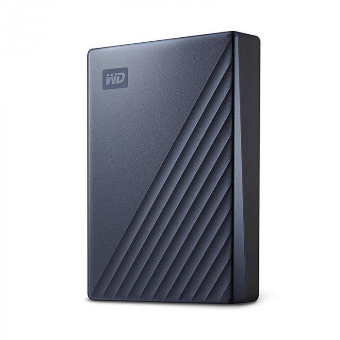 Hard disk extern WD My Passport Ultra 4TB 2.5 inch USB 3.0 Blue