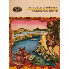 Descrierea Chinei - N. Spataru Milescu