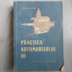 Practica automobilului – Petre Cristea, vol 1