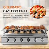 Gratar Camping GPL - 6 Burner Infrared BBQ ''real Infrared''