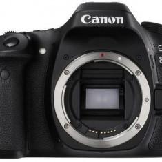 Aparat Foto DSLR Canon EOS 80D, Body, 24 MP, Full HD, WiFi (Negru)