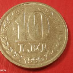 Romania 10 Lei 1990 Luciu