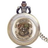 Mini Ceas De Buzunar HARRY POTTER - Hogwarts Bronz