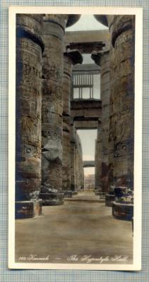AD 584 C. P. VECHE -KARNAK -THE HYPOSTYLE HALL -EGYPT foto