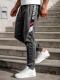Pantaloni de trening grafit Bolf JX8575