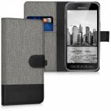 Husa pentru Samsung Galaxy Xcover 4, Textil, Gri, 41255.01