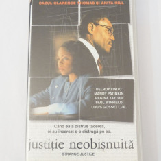 Caseta video VHS originala film tradus Ro - Justitie Neobisnuita