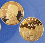 Romania 50 bani  2019 Regele Ferdinand - din fisic BNR