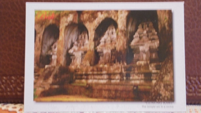 INDIA - RUINELE TEMPLULUI  GUNANG KAWI - NECIRCULATA.