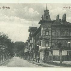 cp Govora : Hotel Stefanescu - circulata 1925, timbre