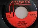 "April Stevens & Nino Tempo – Deep Purple/...(1967/Atlantic/RFG) -VINIL/""7 Single"