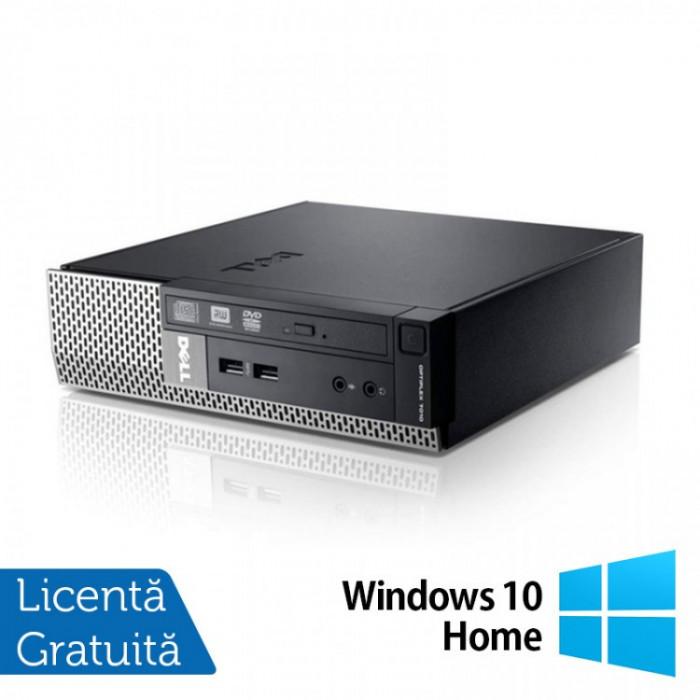Calculator Dell OptiPlex 7010 USFF, Intel Core i5-3475S 2.90GHz, 4GB DDR3, 120GB SSD + Windows 10 Home