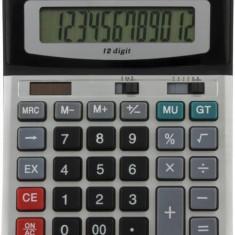 Calculator de birou Esperanza ECL103 Euler 12 cifre gri / negru