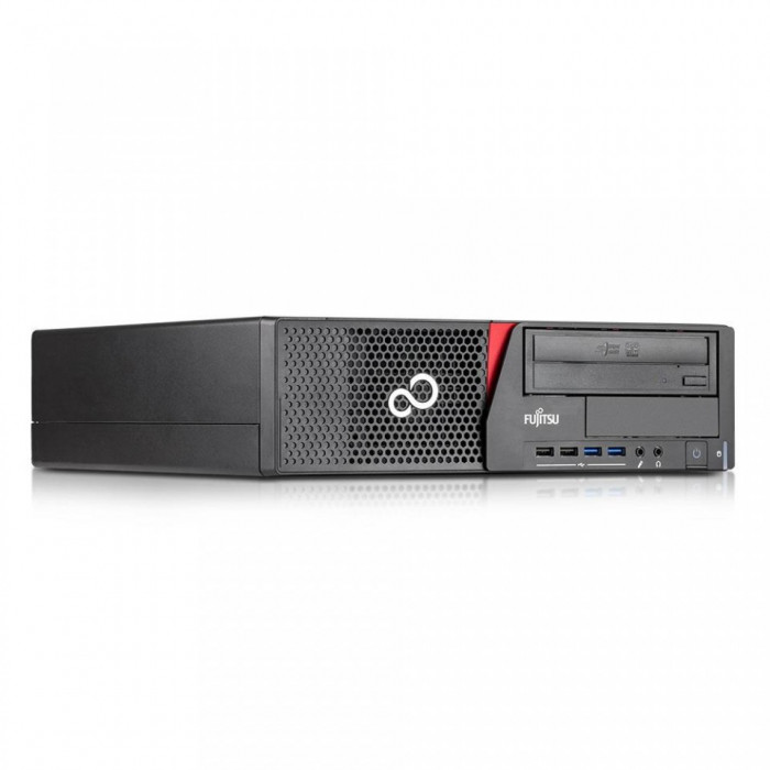 FACTURA + GARANTIE! PC Desktop Fujitsu i3 4130 4GB DDR3 SSD 240GB USB 3.0 DP
