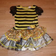Costum carnaval serbare albina albinuta pentru copii de 3-4 ani, Din imagine