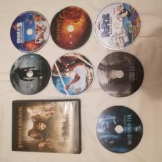 Lot CD 8 filme + 1 CD desene