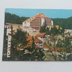 CCO 1978 - CALENDAR DE COLECTIE - TEMATICA TURISM - ANUL 1978