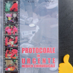 Protocoale in urgente medico-chirurgicale Maghiar Szegedi Lesi Anton
