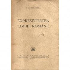 Expresivitatea limbii romane (Princeps, 1942) - D. Caracostea