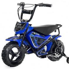 Mini Motocicleta electrica pentru copii NITRO ECO Flee 250W #Albastru