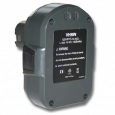 Acumulator pentru ryobi wie bpl1414 u.a. 14.4v/li-ion/1500mah, ,